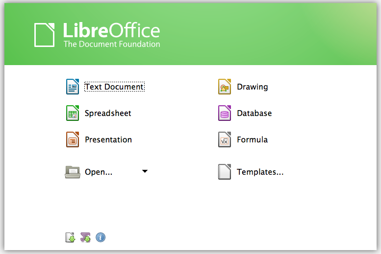 libre office all