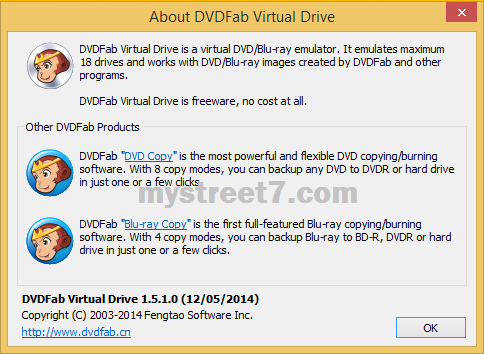 despre dvdfab virtual drive