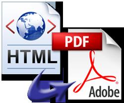 pagini web salvate in pdf