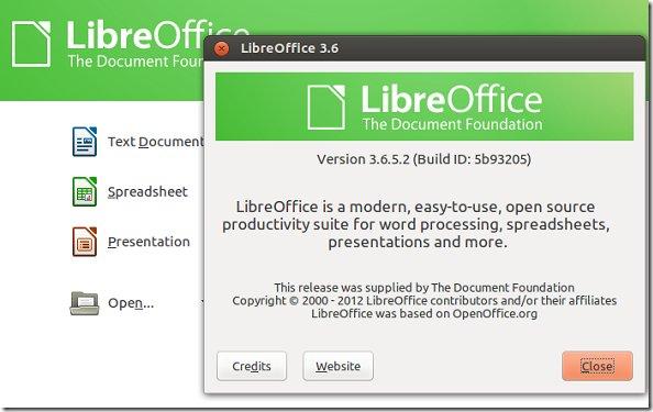 libreoffice 3.6.5, alternativa microsoft office
