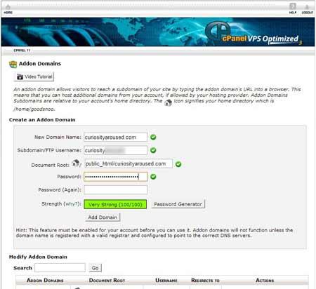 mutare blog pe alt server pasul 2