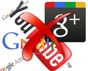 cum sa renuntam la google