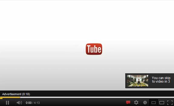 reclame pe youtube