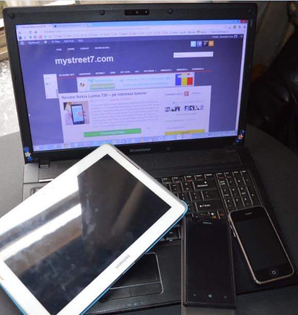 pregatirea unui telefon, tableta sau pc pentru vanzare