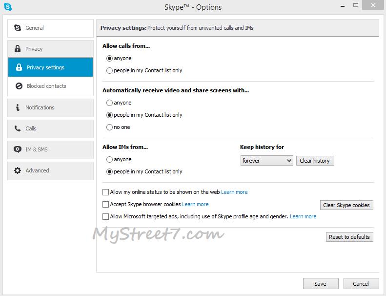 eliminare reclame din skype 1